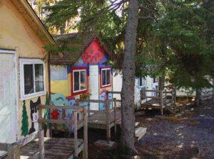 cabins at camp