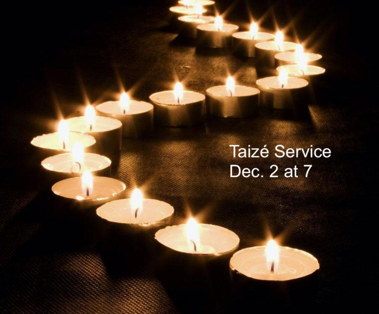 Advent Taizé Service