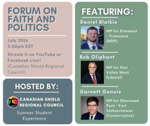 Forum on Faith and Politics