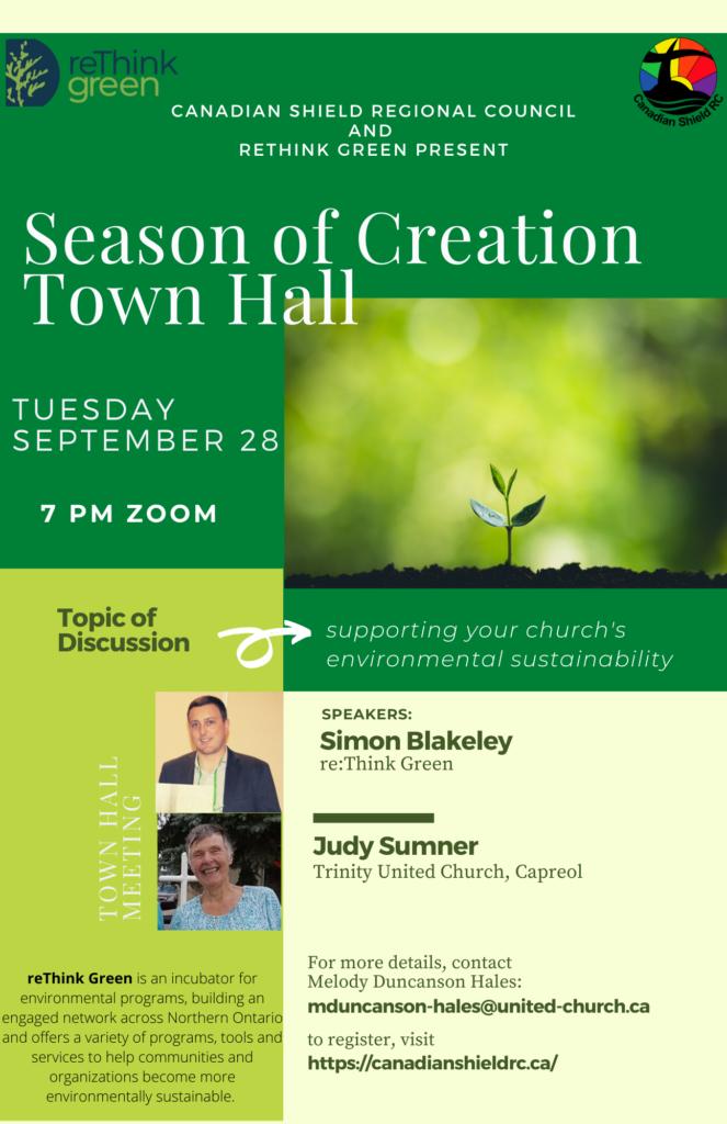 Season of Creation Town Hall