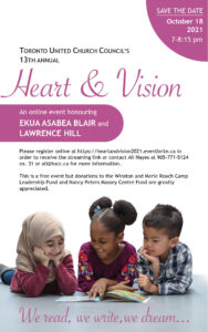 Heart and Vision Online Event